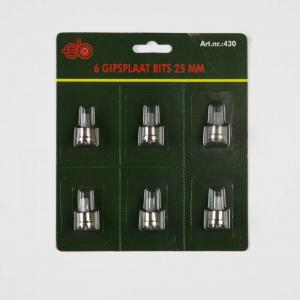 25 mm gipsbit per 6
